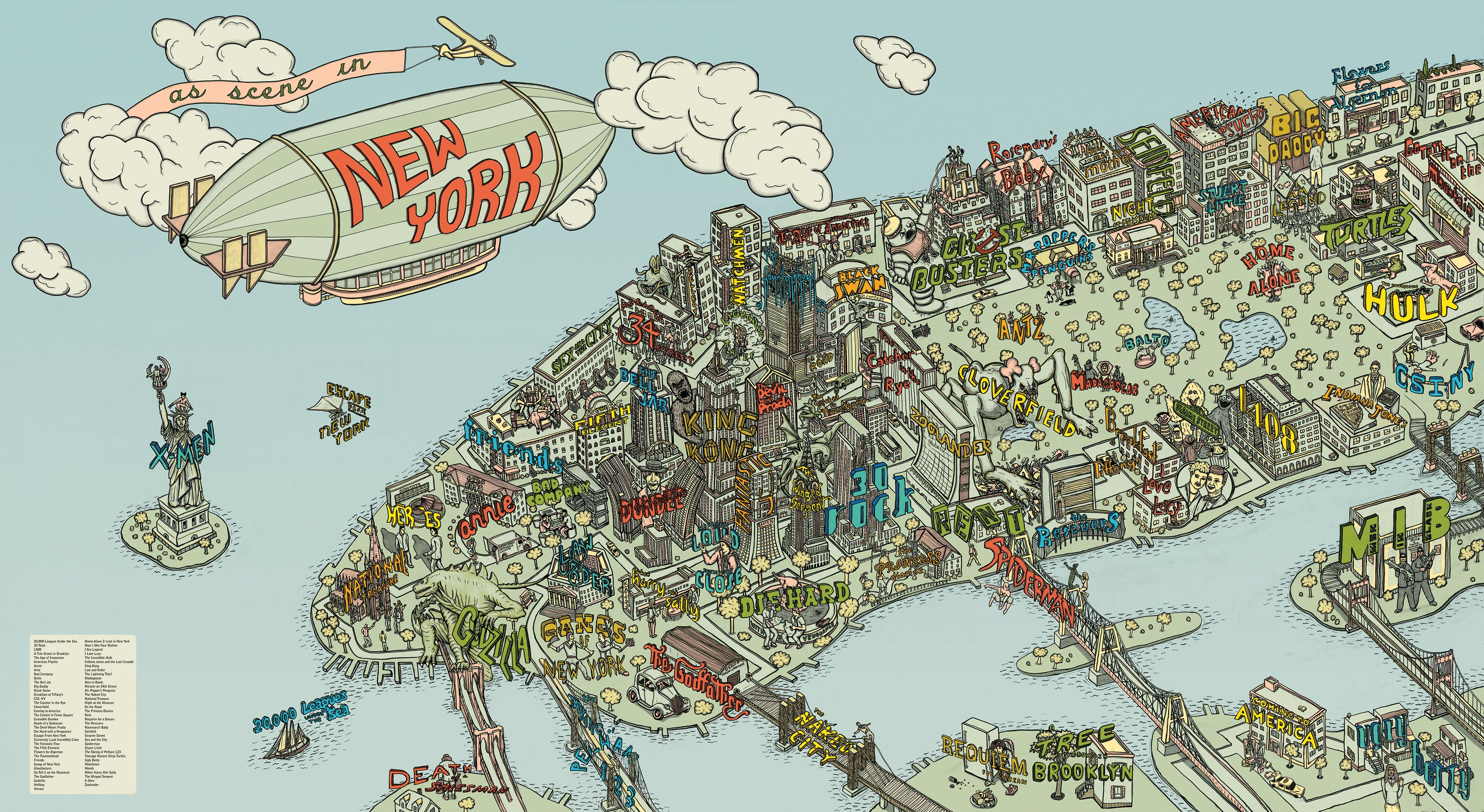 Food Neighborhoods Of Nyc Google Search Illustrations - New york map location