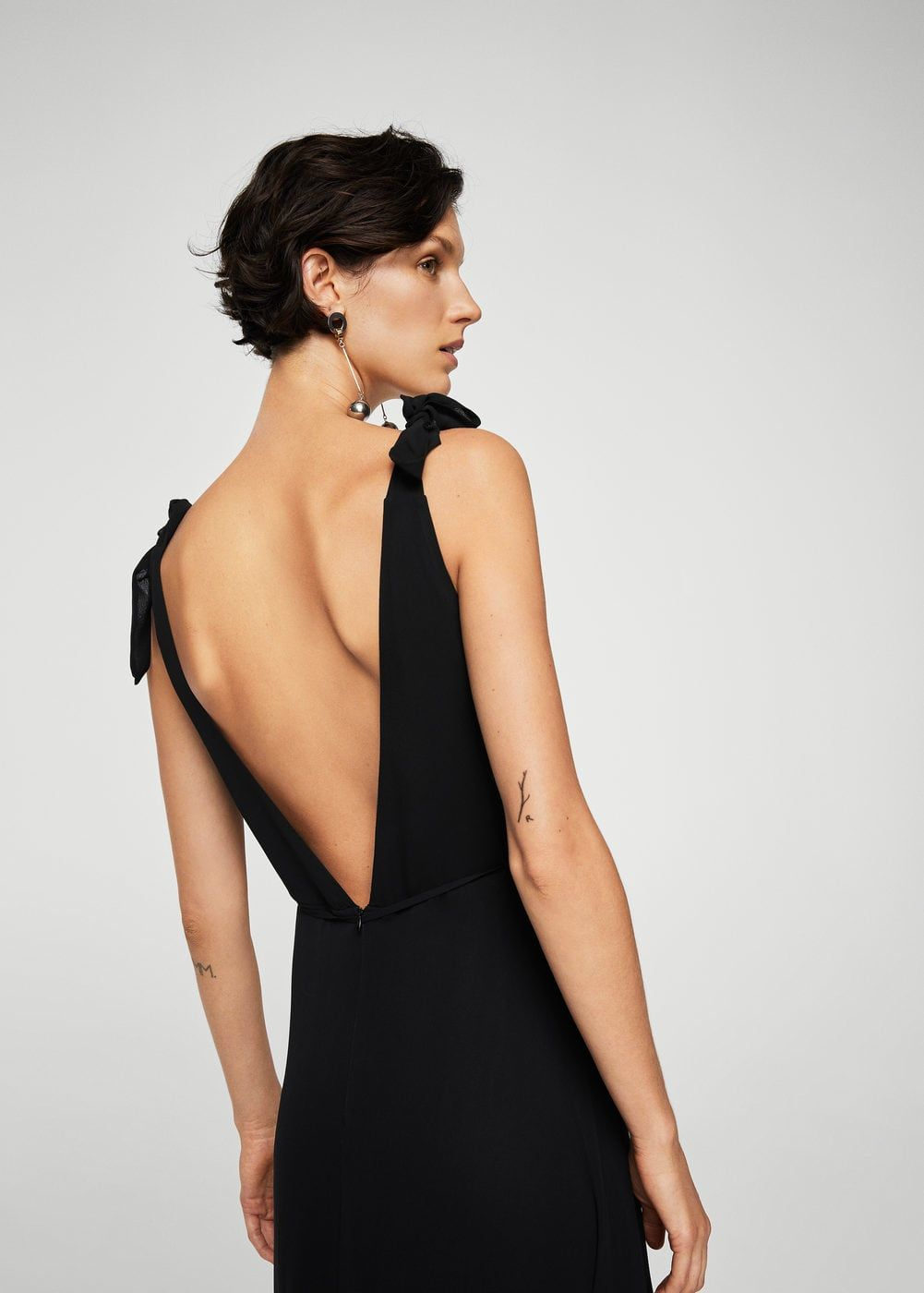 Vestido escote espalda - Vestidos de Mujer 9632ee26c4eb