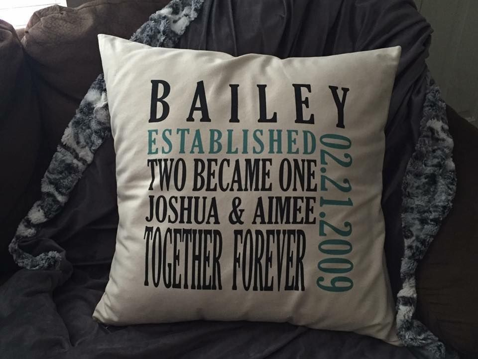 31 Wedding Anniversary Gift: Established Pillow Perfect For Weddings And Anniversaries
