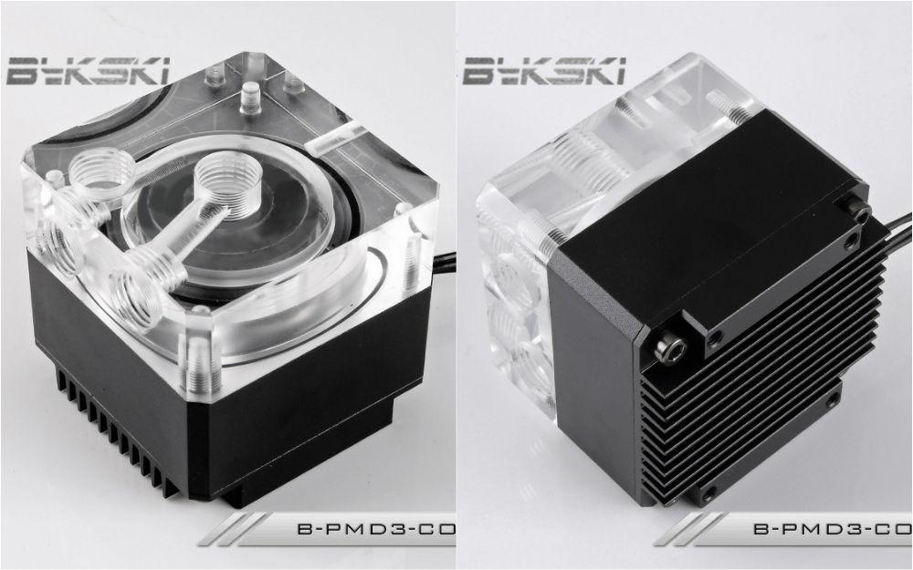 Bykski B Pmd3 Cov Water Cooling Pump With Heatsink 500l Ddc Black