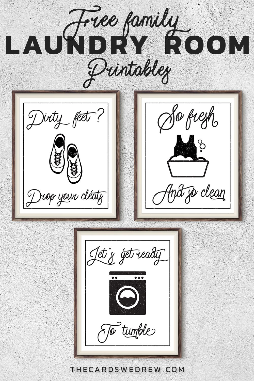 Free Farmhouse Laundry Room Printables For Moms Laundry Room