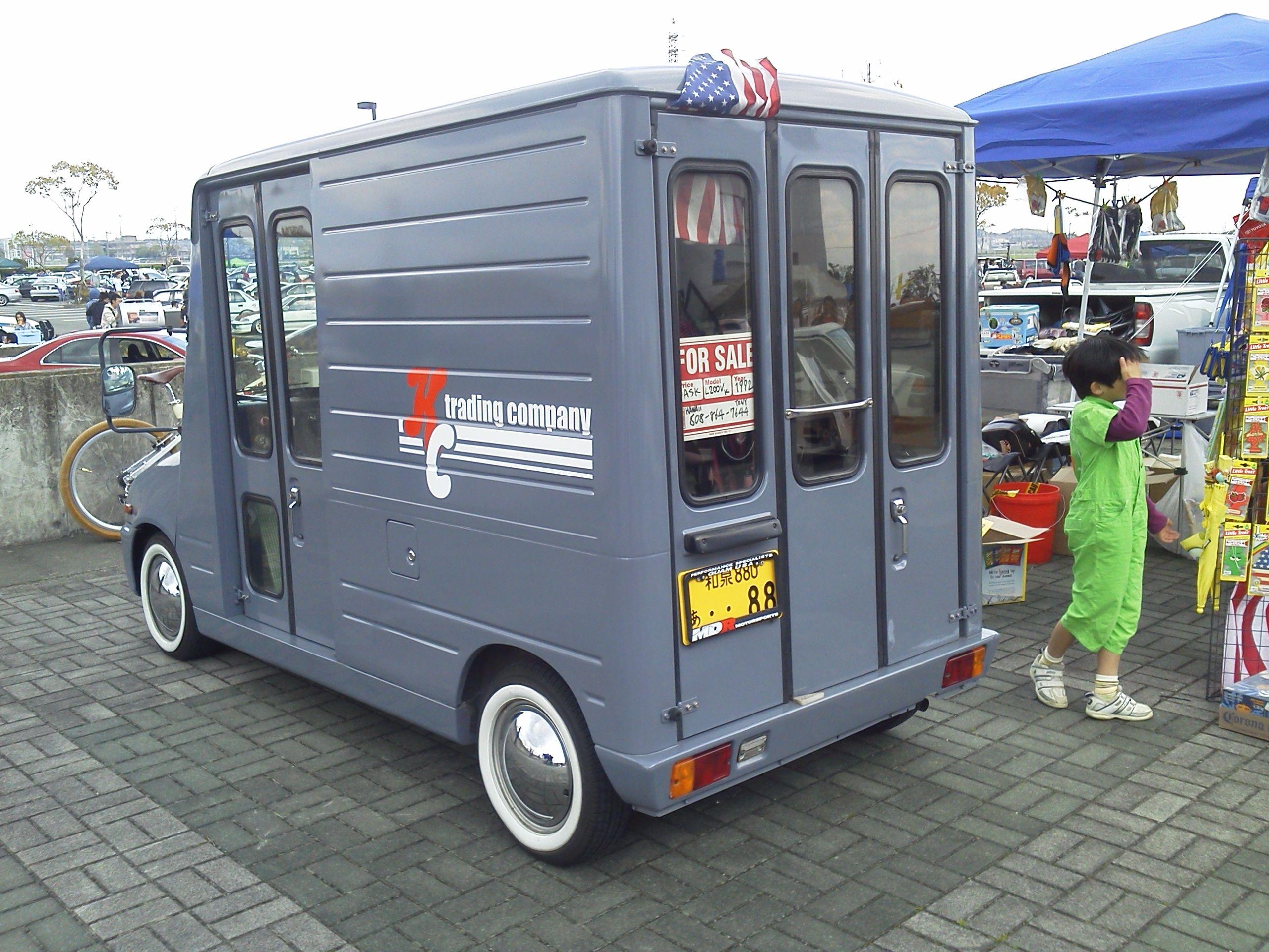 Daihatsu Mira Walk Through Van