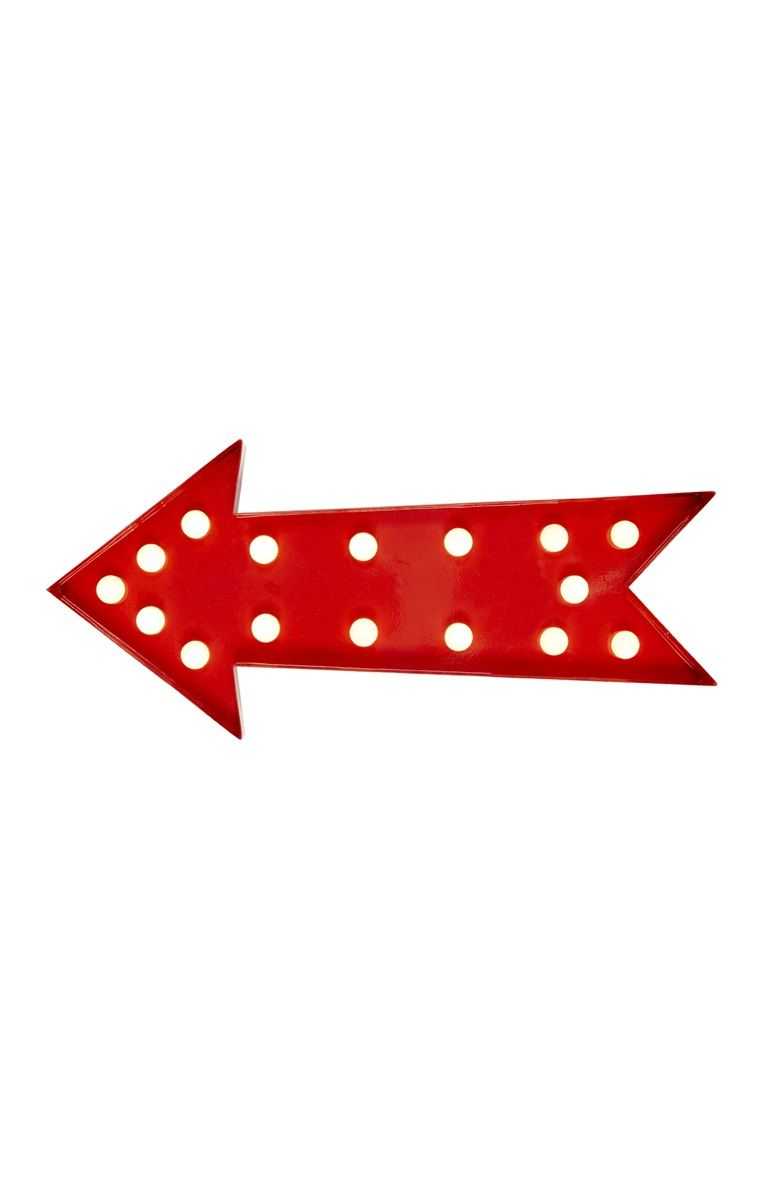 Primark Red Arrow Light Primark Red Arrow Metal