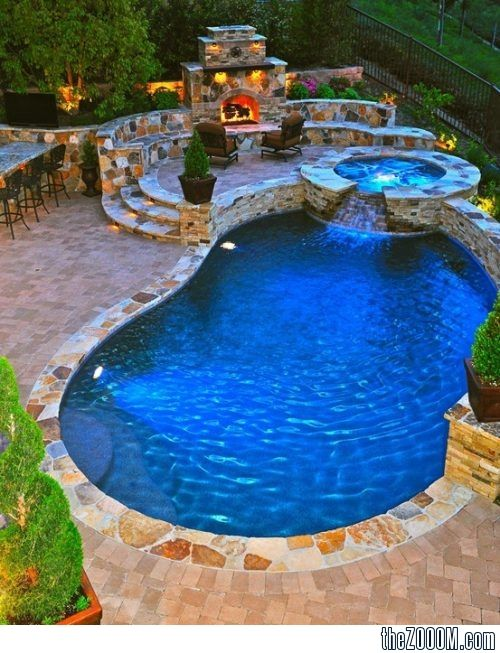 Dream backyard; definitely would love a pool in the ... on Dream Backyard With Pool id=57315