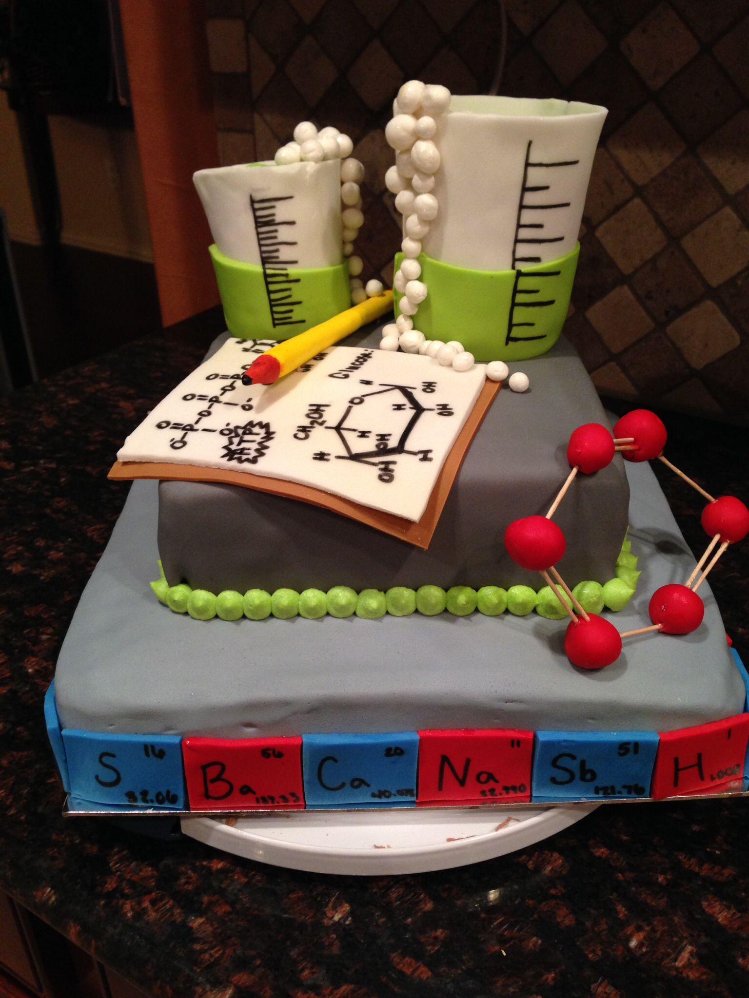 Chemistry Grooms Cake Cakes In 2019 Chemistry Cake