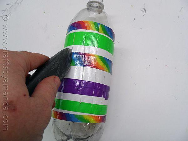 Recycled Plastic Bottle Wind Spinner at CraftsbyAmanda com