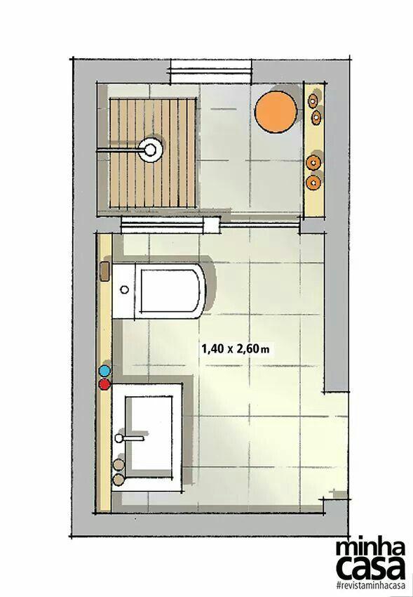 Modelo Banheiro Planos De Banos Pequenos Planos De Banos