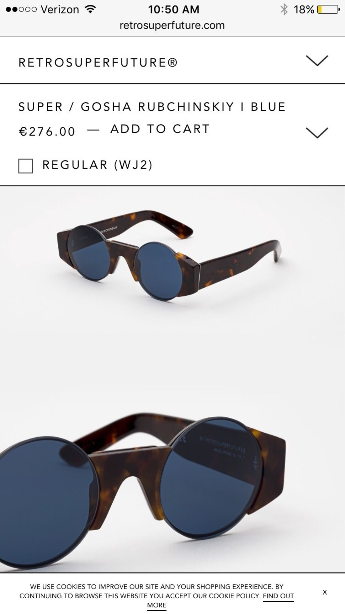 ffb5cc625f87 Gosha Rubchinskiy Gosha Rubchinskiy Super Sunglasses Size One Size  550 -  Grailed