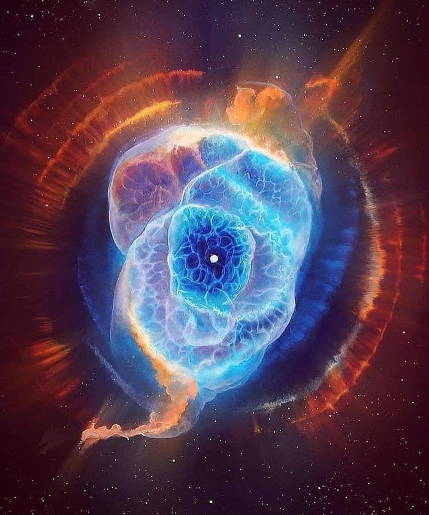 Environmental science nebula cats eye nebula, carina