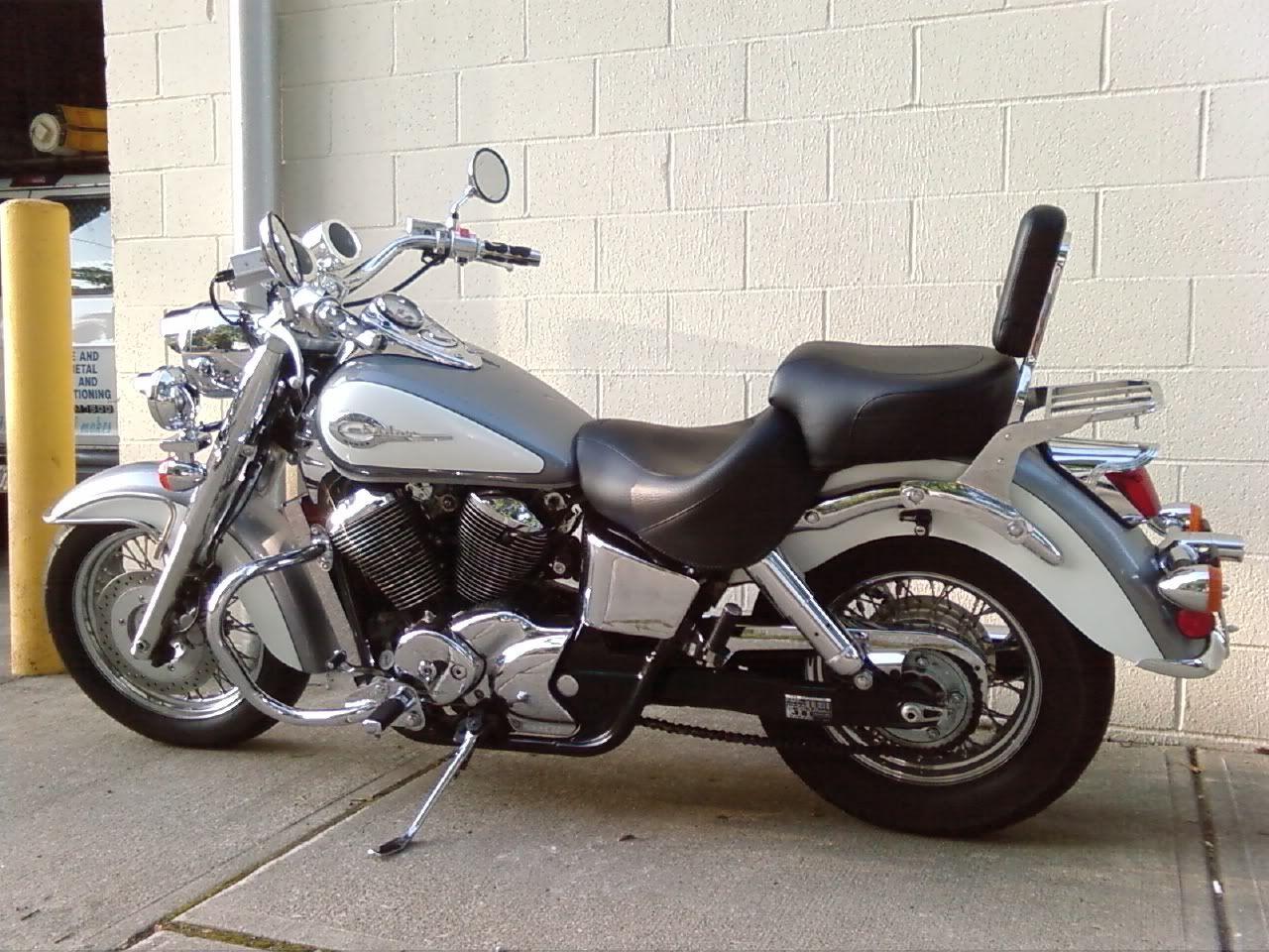 2001 Honda Ace 750 - Google Motocycle