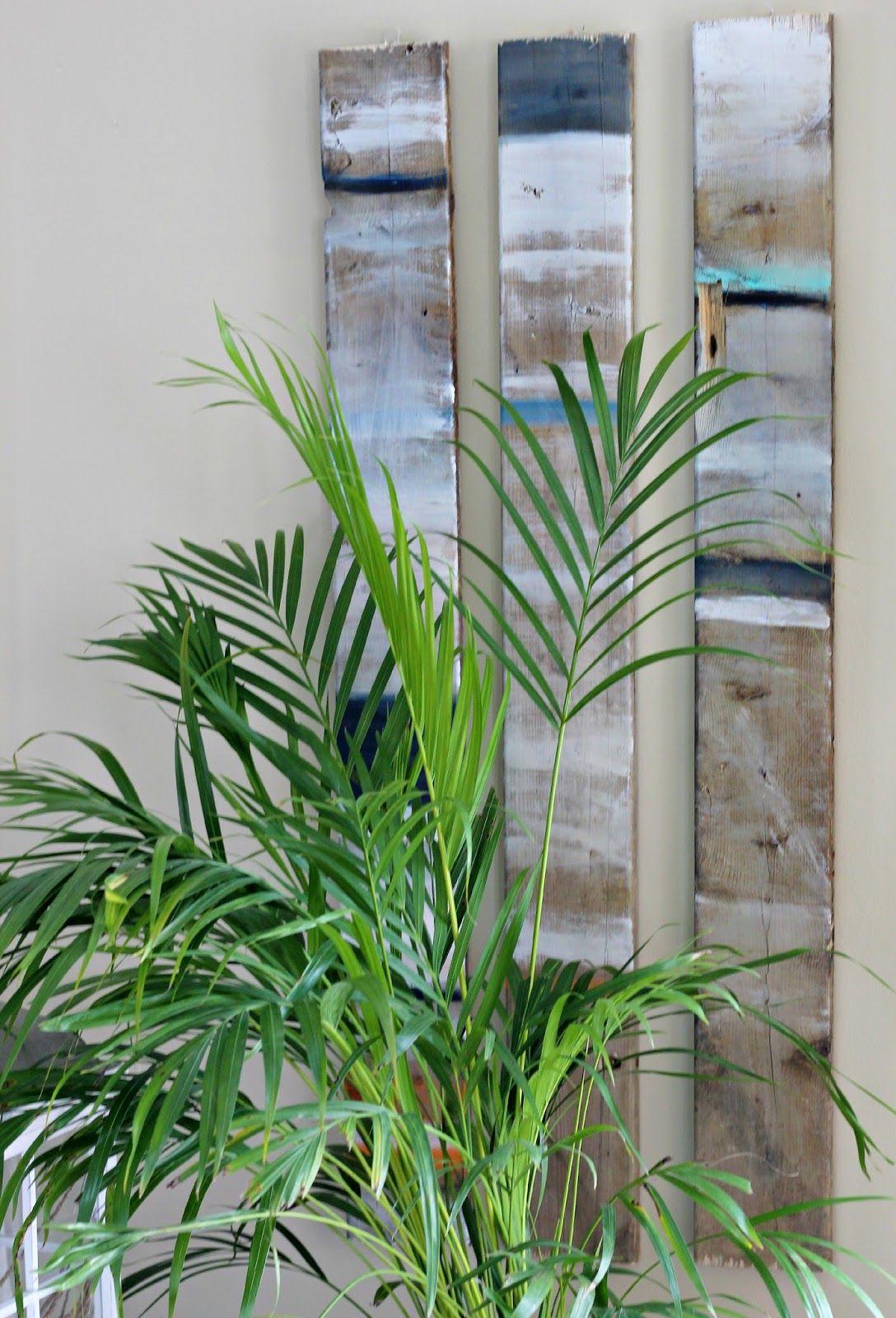 Pallet wood, coastal wall decor. | Hometalk Styles ...