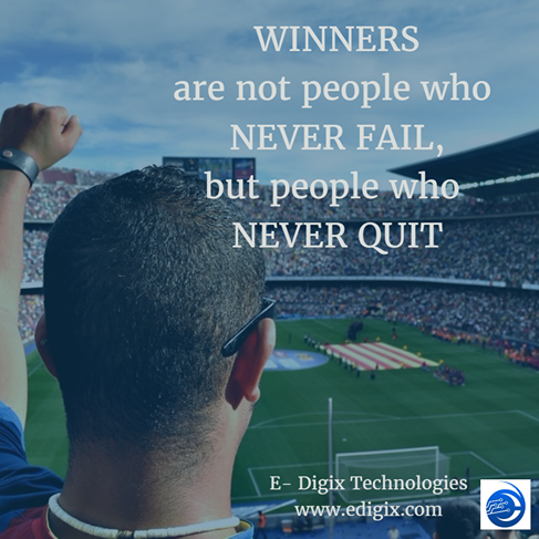 Quote of The Day Winners are not people who never fail, but people who never quit.. #quote #ThursdayThoughts