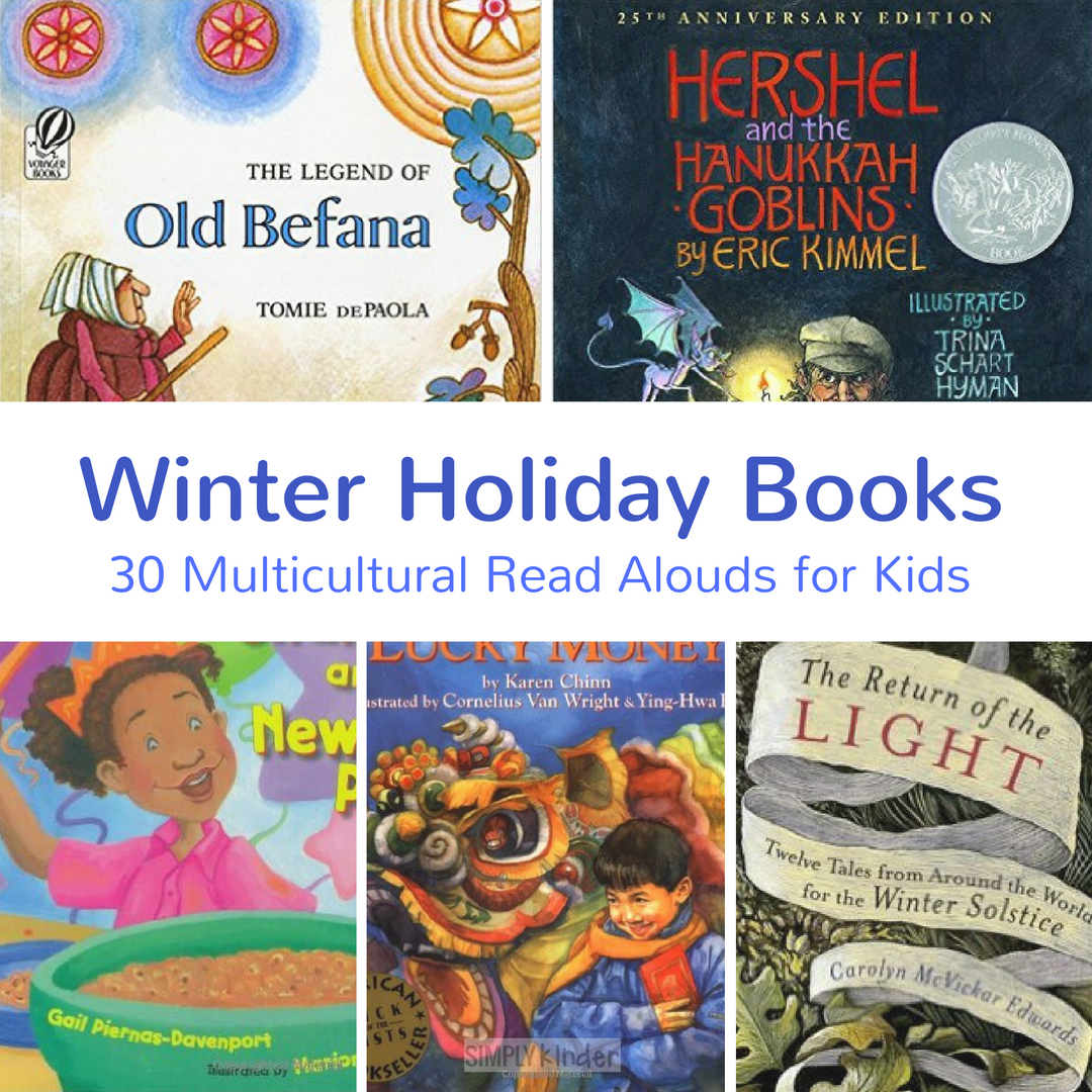 Christmas Around the World Books Kindergarten books