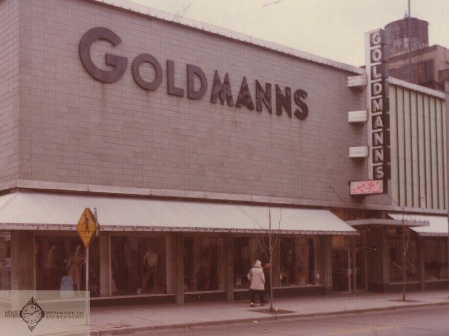 Goldmanns Department StoreA long time fixture on W