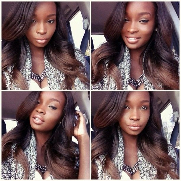 One of the best ombre looks i have seen hair raising chocolate brown ombre love this pmusecretfo Image collections
