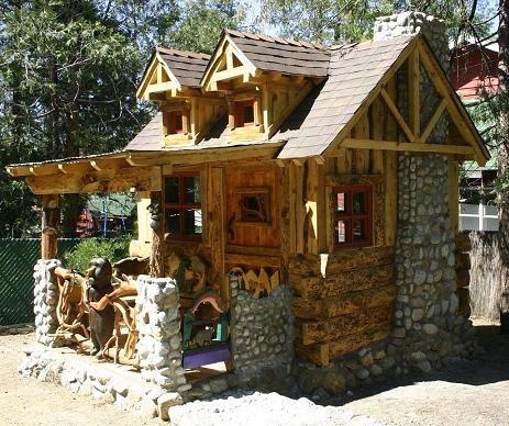 Cabin Buildings - Rustic Nature | Tiny houses | Pinterest | Casas de ...