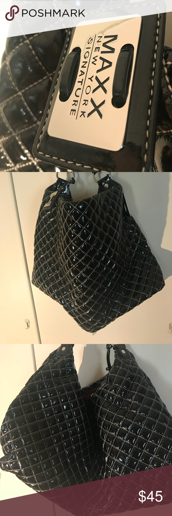 Ma New York Signature Bag A Beautiful Quilted Design Without Tags