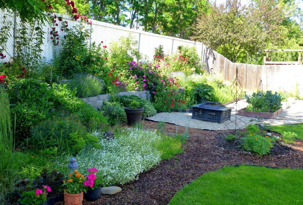 Gravel And Grass Landscaping Ideas Landscaping Gardening Ideas