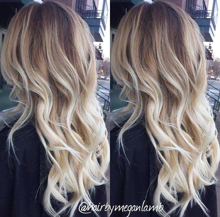 Icy Blonde Balayage Mane Attraction Balayage Hair