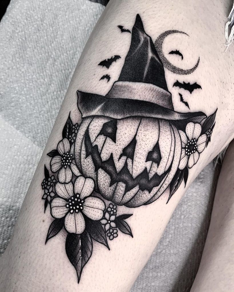 Halloween Tattoos mit Angelo Parente