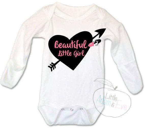 Baby Girl Onesies®, Baby Girl Onesie, Cute Baby Girl Onesie, Bows Before Bros Baby Girl Onesie, Baby Girl Onesie