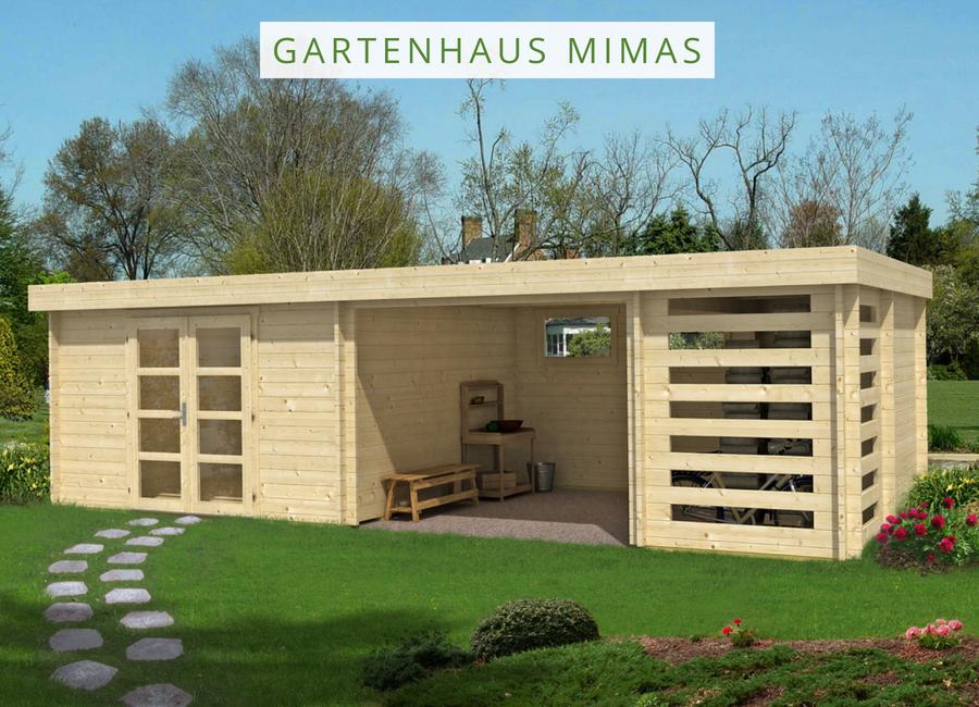 Gartenhaus Mimas 44 ISO Gartenhaus Mimas 44 ISO
