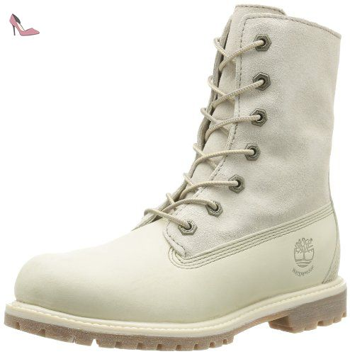 Auth Tedy Flce Wp, femmes-Boots femme-Blanc (Winter White), 41 EU (9.5 US)Timberland
