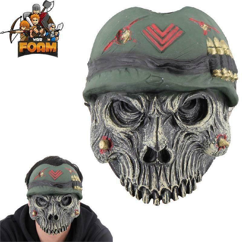 Brand New Dead Skin Adult Vinyl Chinless Costume Mask