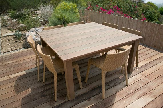 Charmant The Wright Ipe Table By HouseofHardwood On Etsy, $695.00