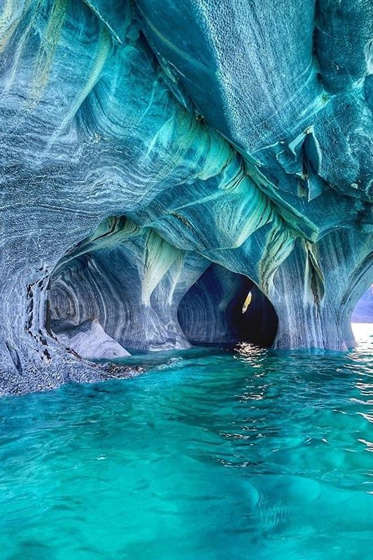 Whoa, This Secluded Cave in Chile Looks Like It's