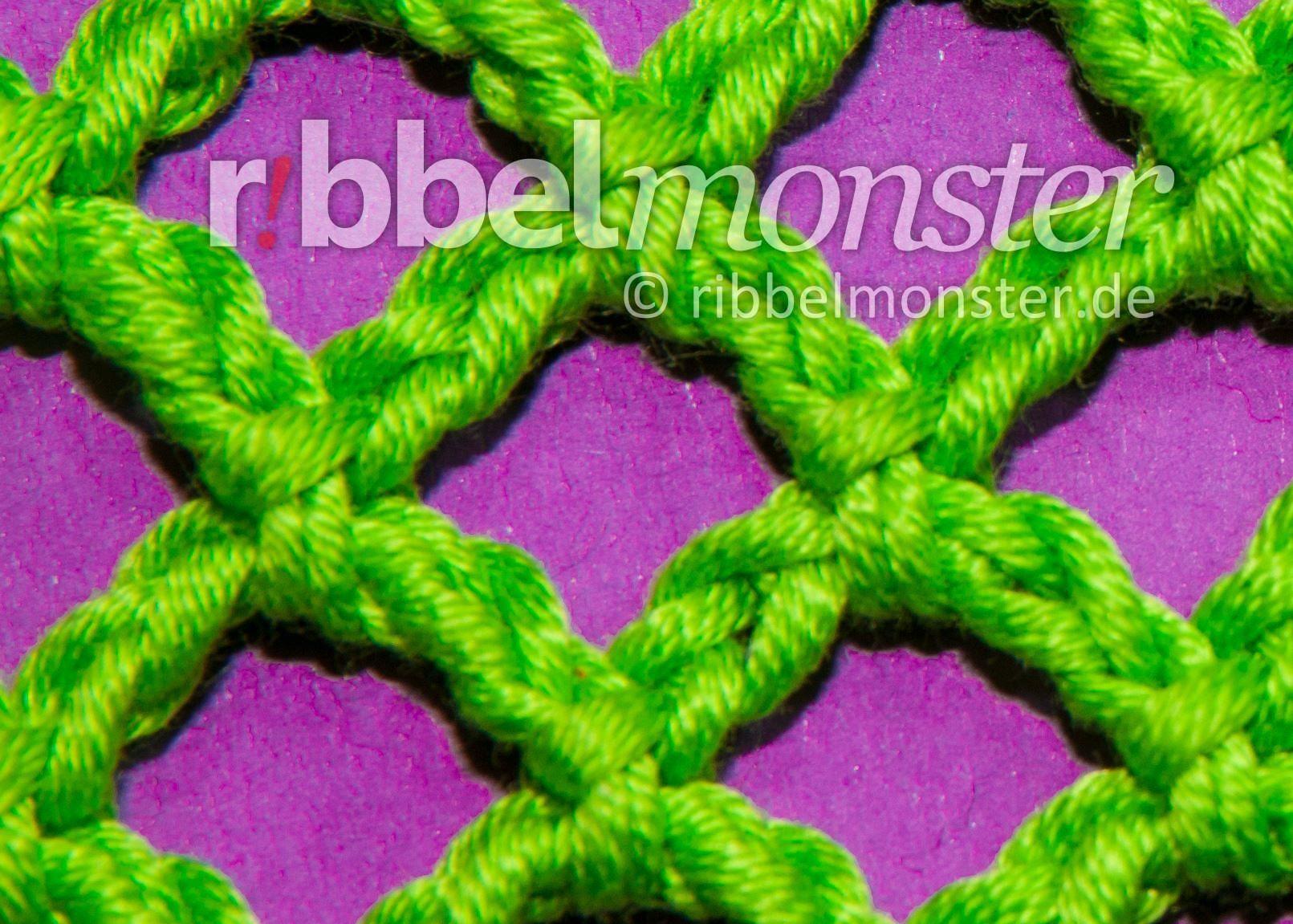 einfaches Netz häkeln | Knitting... crochet... | Pinterest | Netz ...