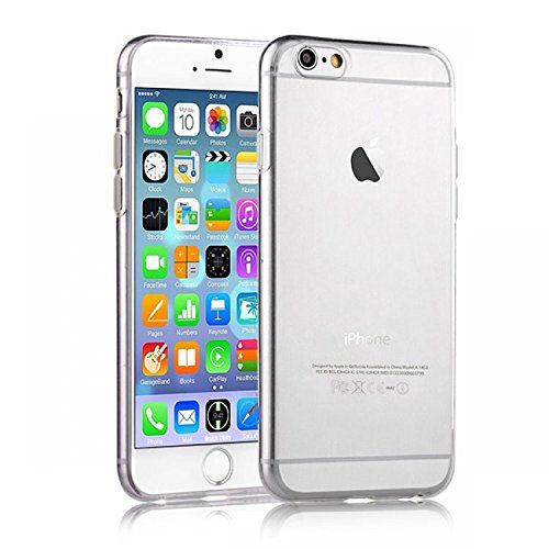 bfae5960a610bf excellent SDTEK Clear Transparent Soft Gel TPU Silicone Case Cover for iPhone  6