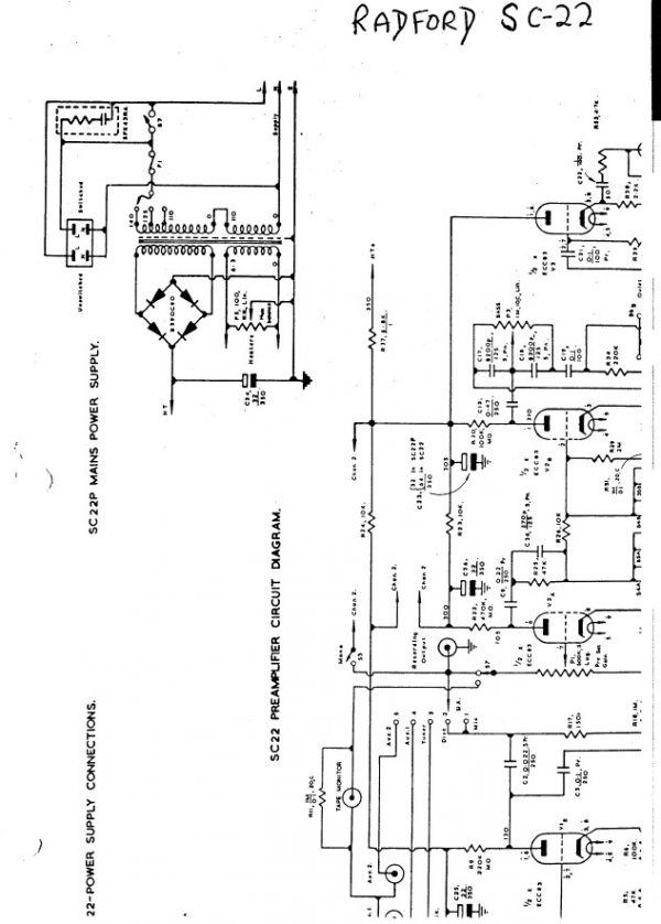 Radford Sc 22 Amplifier Service Repair Workshop Manual Hey Downloads Repair Amplifier Manual