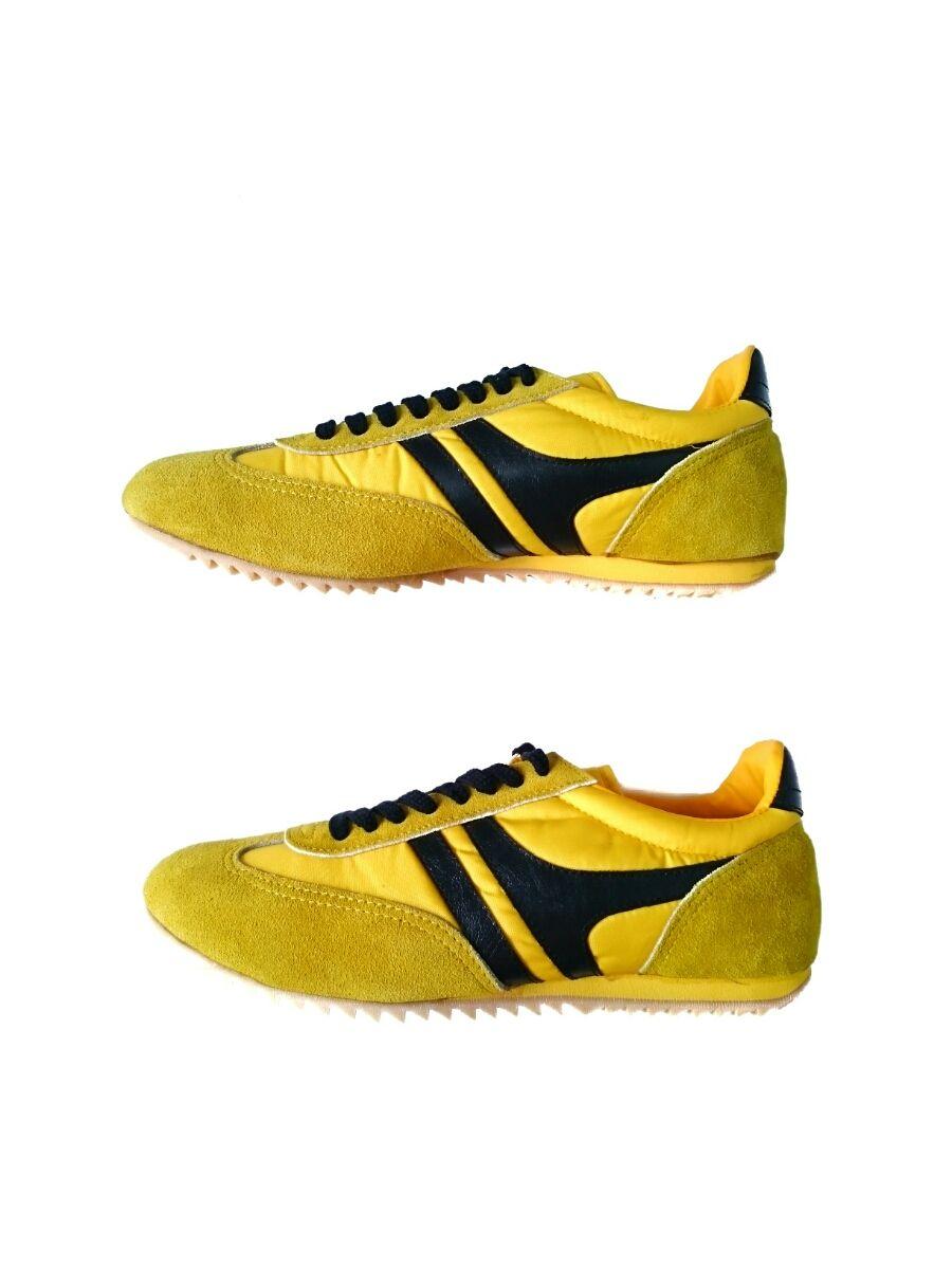 Vintage Sears Sneakers Yellow × Black
