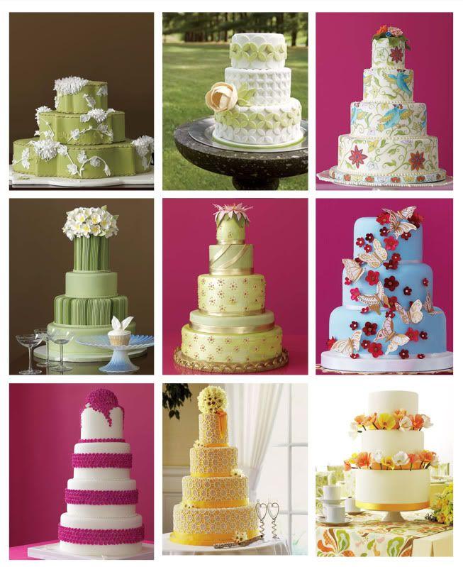 Wedding cakes from brides.com