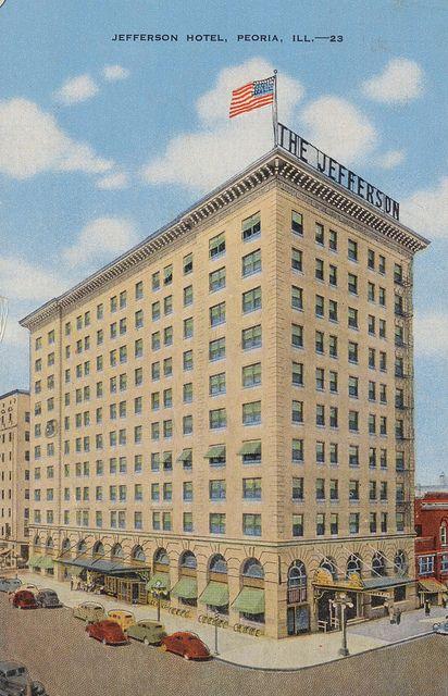 Explore Jefferson Hotel Peoria Illinoiore