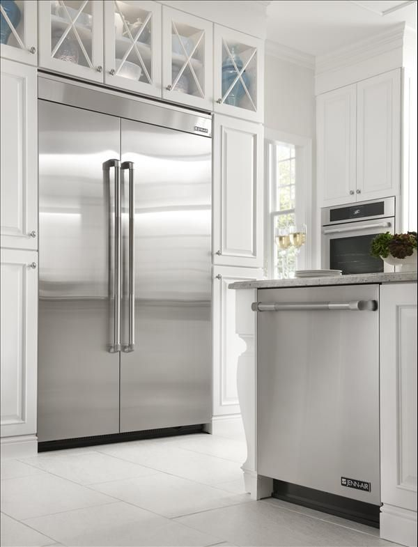 Thinking Of Doing All Gl Cabinet Doors Above The Refrigerator