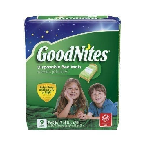 Goodnites Disposable Bed Mats by GoodNites