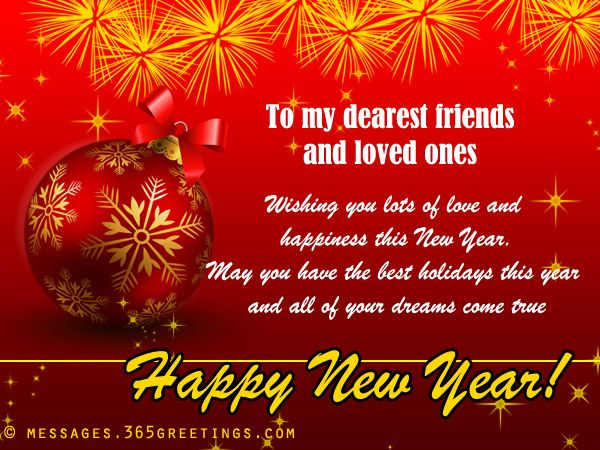 New year messages for friends messages m4hsunfo