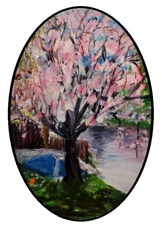 Original painting by the British artist Debra Franses Bean - Paris Art Web