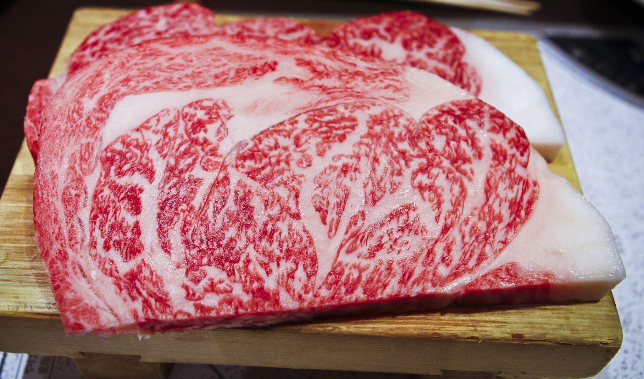 Japanese 100 Wagyu Beef A 5 Grade Ribeye Steak
