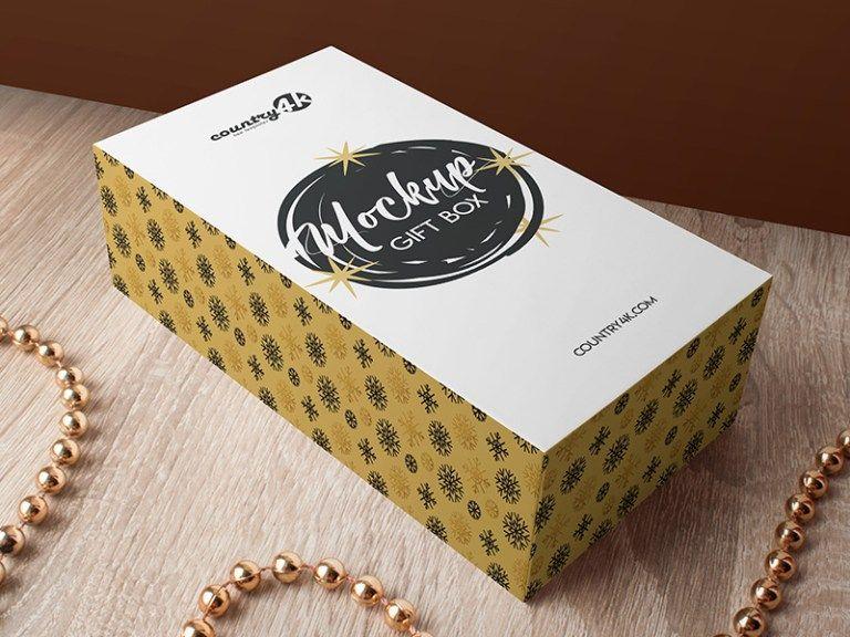 Download Free Gift Box Mockup Psd Free Download Freebiesjedi Box Mockup Gifts Free Gifts