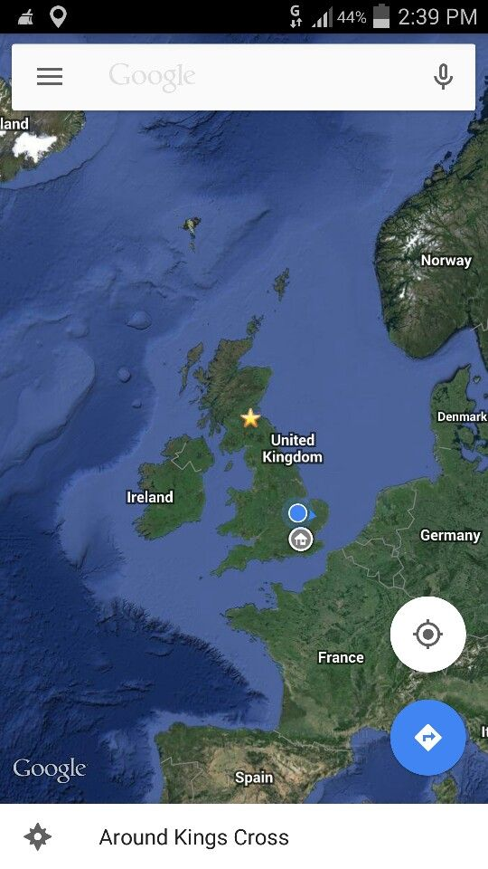 Google Maps star pinpoint Google Maps star