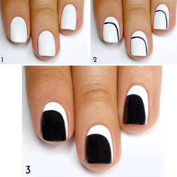Diseños para uñas paso a paso | Diseños para uñas, Sencillo y ...