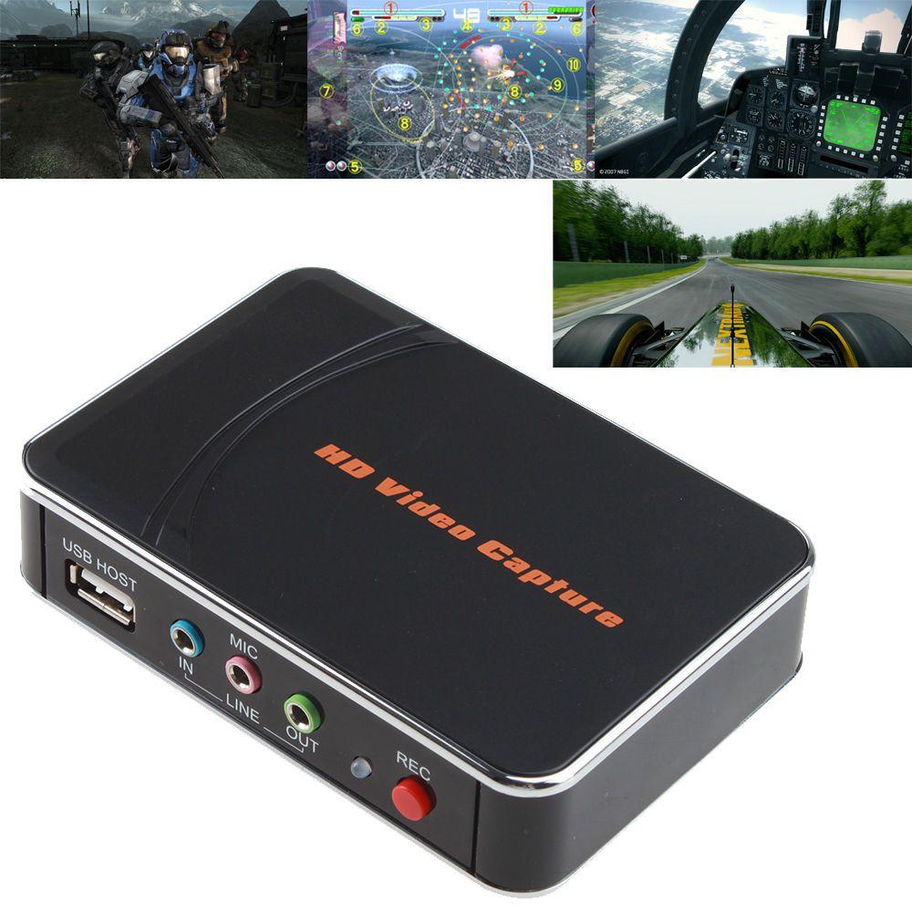 Hd Game Video Capture 1080p Hdmi Ypbpr Recorder For Xbox 360 One Live Ps3 Ps4 Video Capture Game Video Xbox