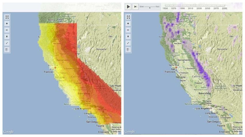 Cal-Adapt's Climate Tools  http://cal-adapt.org/