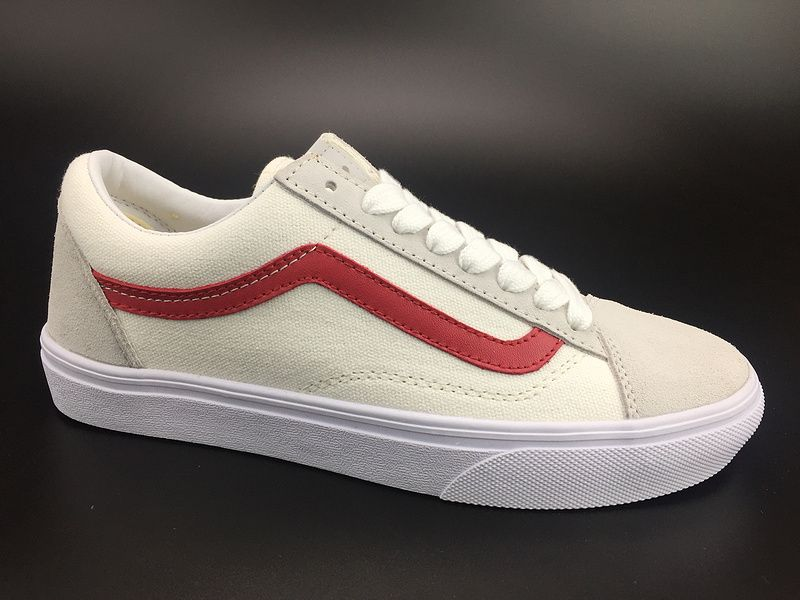 3d766610de1702 STYLE 36 skateboard shoes white red right Zhilong GD section of the public  section number  Vans