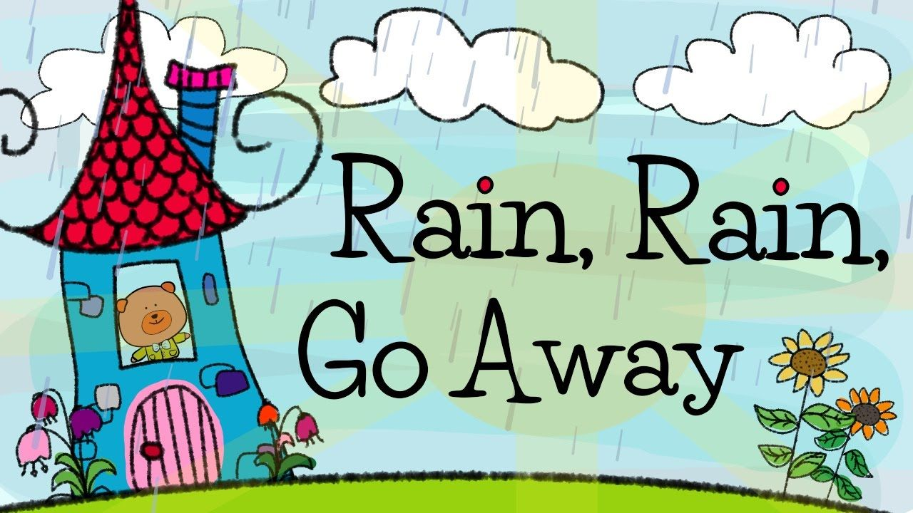 Rain Rain Go Away Nursery Rhymes For Children Elf Learning And The Singing Walrus Rhymes For Kids Kids Nursery Rhymes Funny Songs For Kids