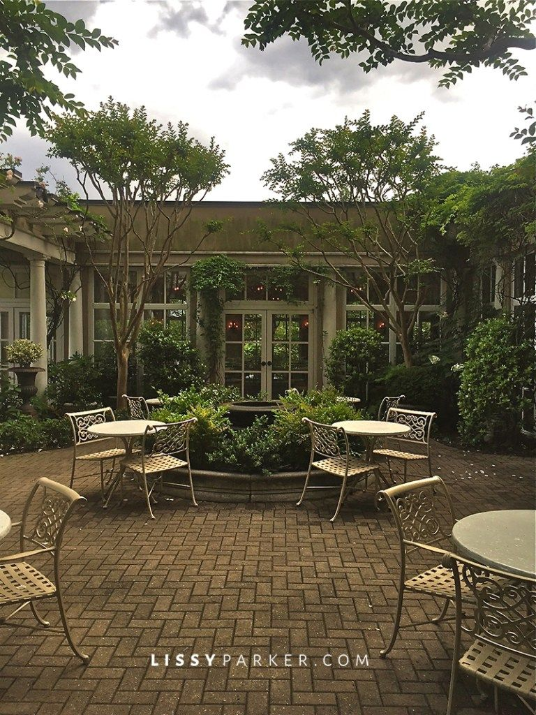 Cloister Garden at O.Henry Hotel in Greensboro, NC | O.Henry Hotel ...