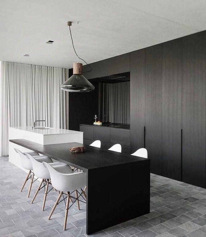 Pin de Evelina Zadvidaite en interior | Pinterest | Cocina moderna ...